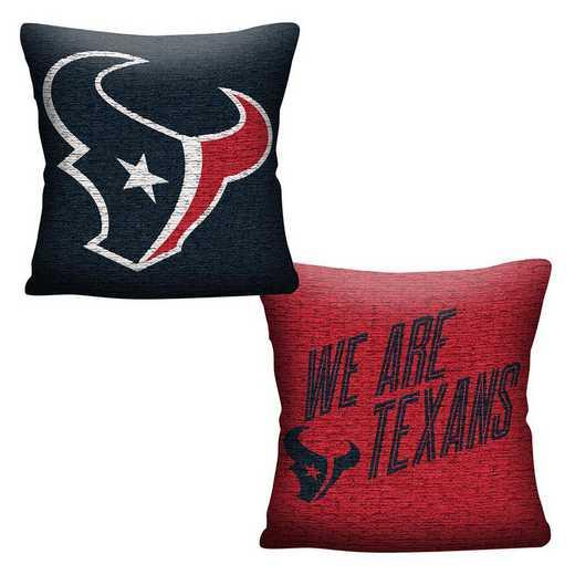 1NFL129000119RET: NFL 129 Texans Invert Pillow