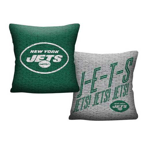 1NFL129001015RET: NFL 129 Jets Invert Pillow