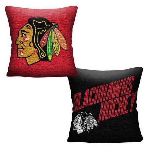 1NHL129000004RET: NHL 129 Blackhawks Invert Pillow