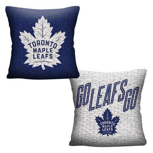 1NHL129000023RET: NHL 129 Maple Leafs Invert Pillow