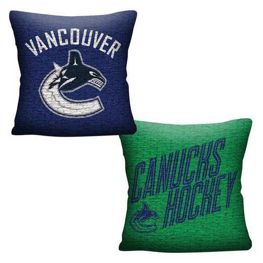 1NHL129000024RET: NHL 129 Canucks Invert Pillow