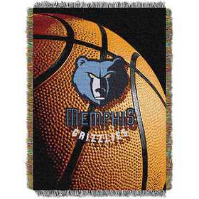 1NBA051030028RET: NW NBA Photo Real Tap Throw, Grizzlies