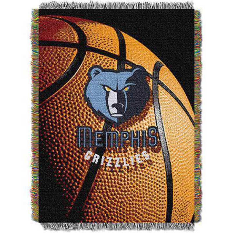 1NBA051030028RET: NW NBA Photo Real Tap Throw, Grizzlies