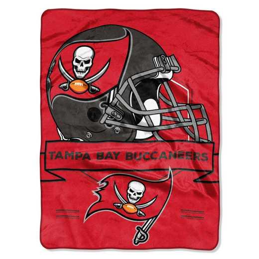 1NFL080710006RET: NW NFL Prestige Raschel Throw, Bucs