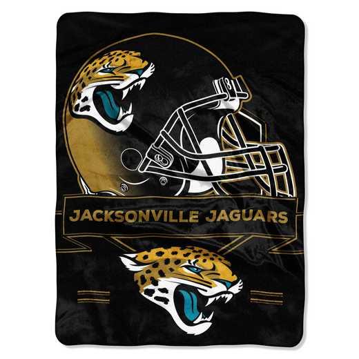 1NFL080710014RET: NW NFL Prestige Raschel Throw, Jaguars