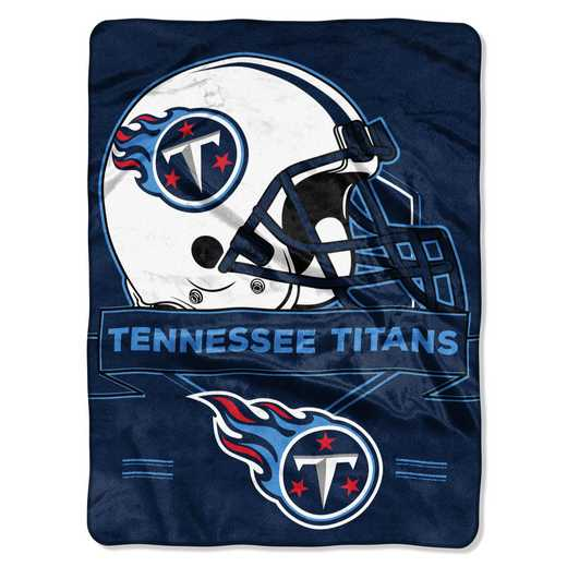 1NFL080710016RET: NW NFL Prestige Raschel Throw, Titans