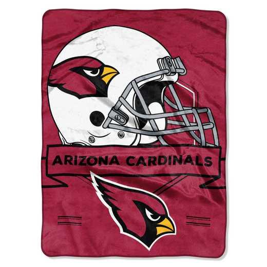 1NFL080710080RET: NW NFL Prestige Raschel Throw, Cardinals