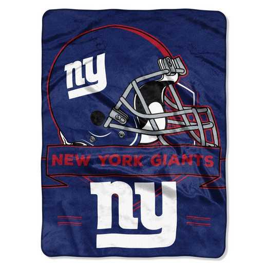 1NFL080710081RET: NW NFL Prestige Raschel Throw, Giants