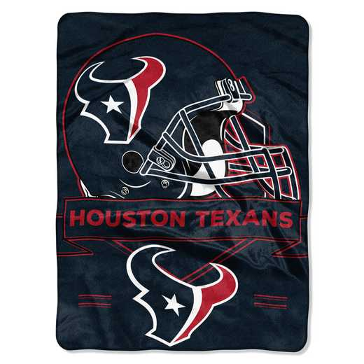 1NFL080710119RET: NW NFL Prestige Raschel Throw, Texans