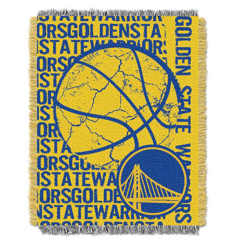 1NBA019040009RET: NBA  JACQUARD THROW, Warriors