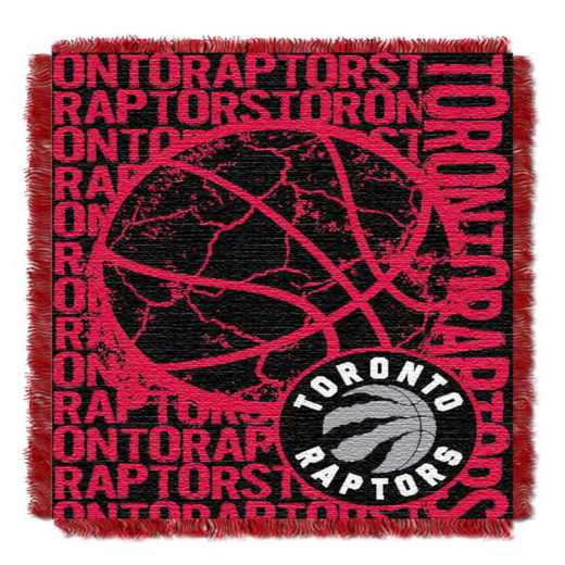 1NBA019040026RET: NBA  JACQUARD THROW, Raptors
