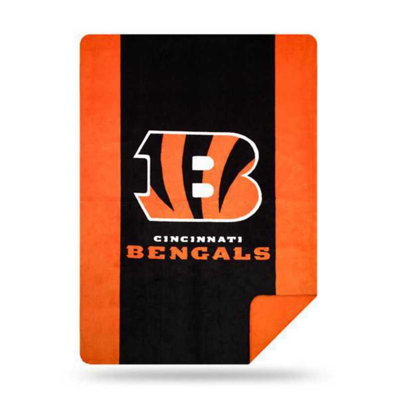 1NFL361000002RET: NFL 361 Bengals Sliver Knit Throw