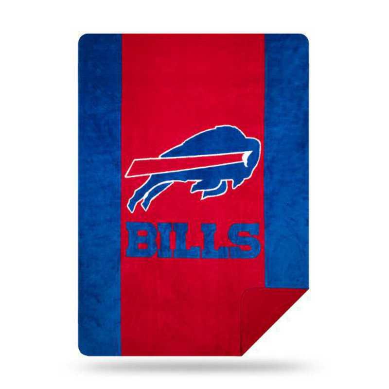 1NFL361000003RET: NFL 361 Bills Sliver Knit Throw