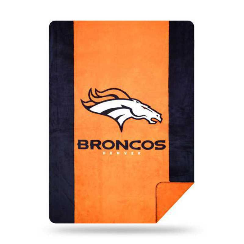 1NFL361000004RET: NFL 361 Broncos Sliver Knit Throw