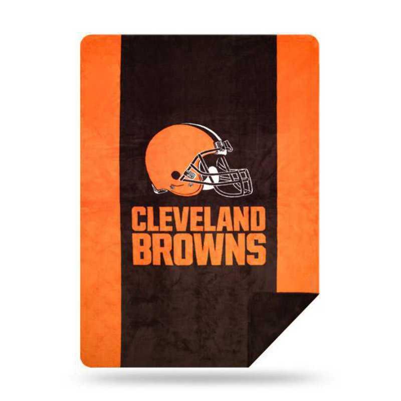 1NFL361000005RET: NFL 361 Browns Sliver Knit Throw