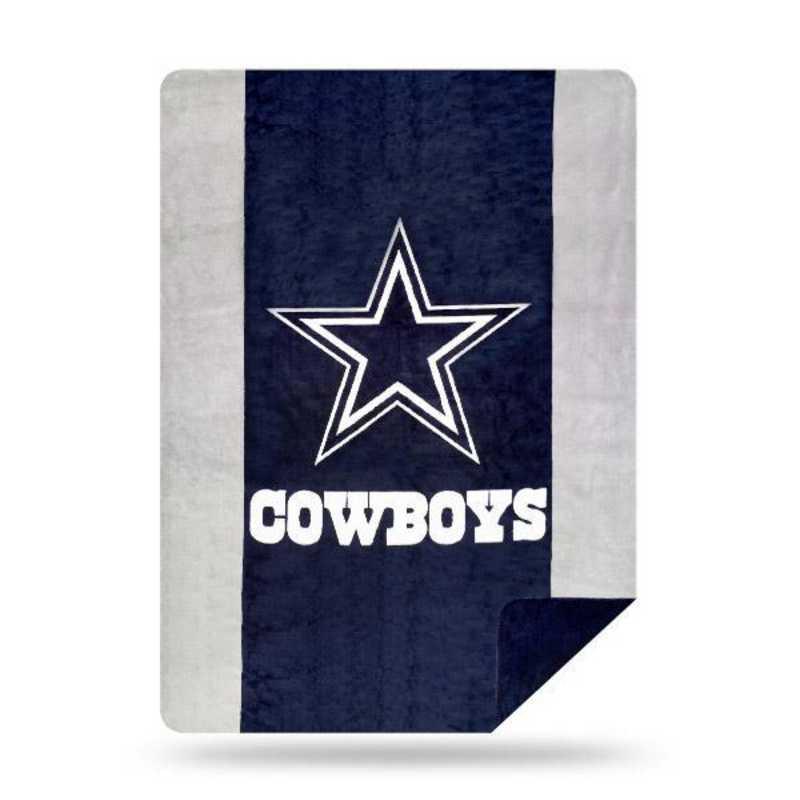 1NFL361000009RET: NFL 361 Cowboys Sliver Knit Throw