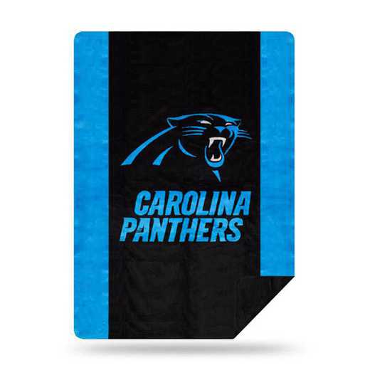 1NFL361000018RET: NFL 361 Panthers Sliver Knit Throw