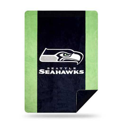 1NFL361000022RET: NFL 361 Seahawks Sliver Knit Throw