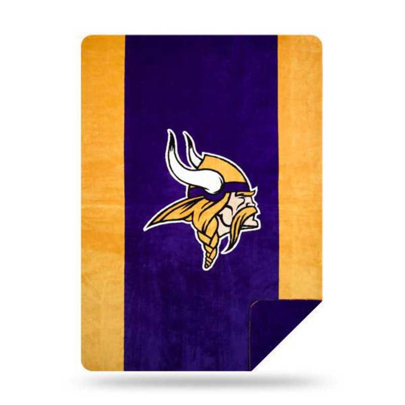 1NFL361000023RET: NFL 361 Vikings Sliver Knit Throw