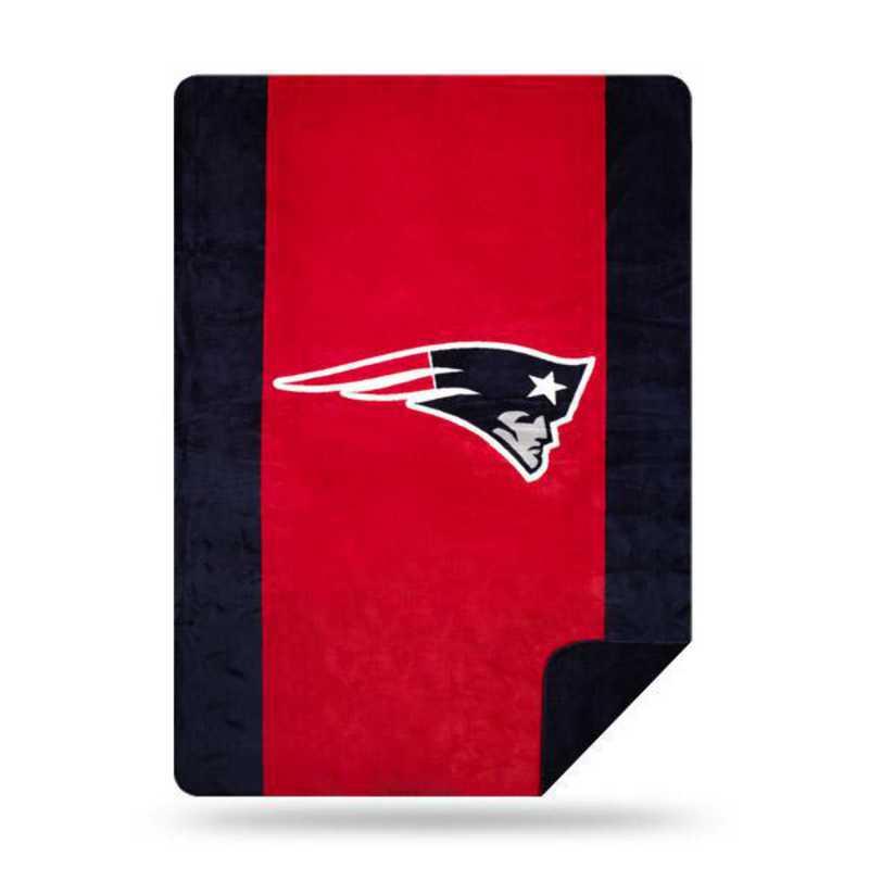 1NFL361000076RET: NFL 361 Patriots Sliver Knit Throw