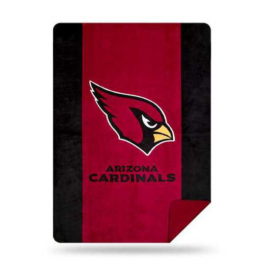 1NFL361000080RET: NFL 361 Cardinals Sliver Knit Throw