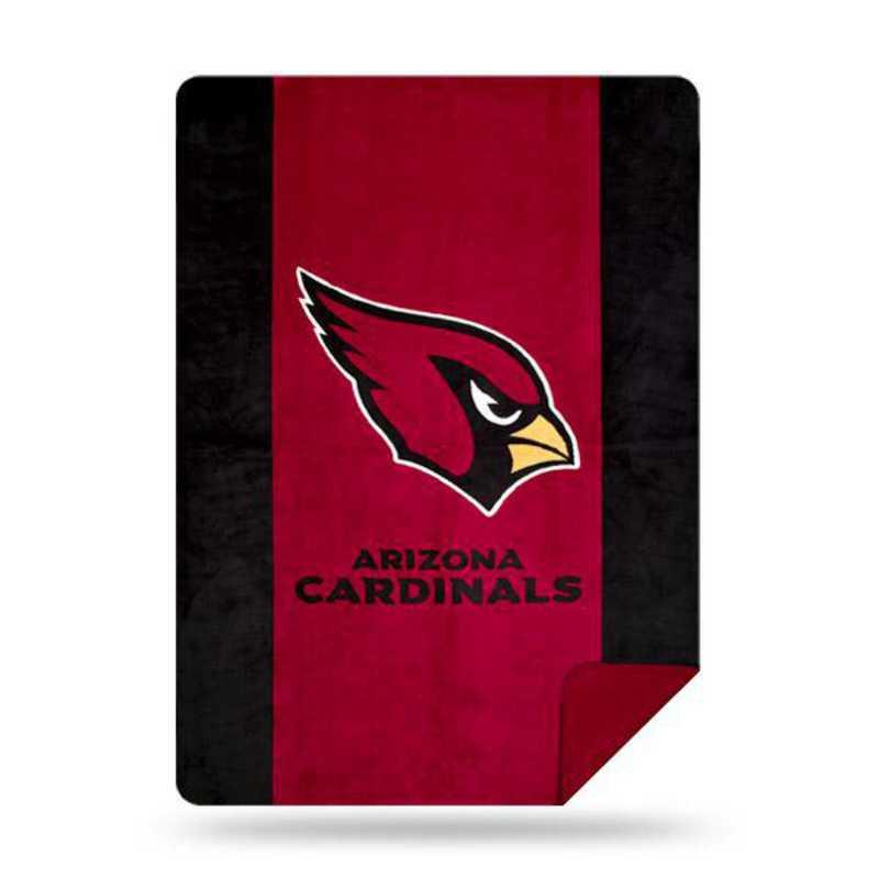 1NFL361000080RET: NFL 361 Cardinals Sliver Knit Throw