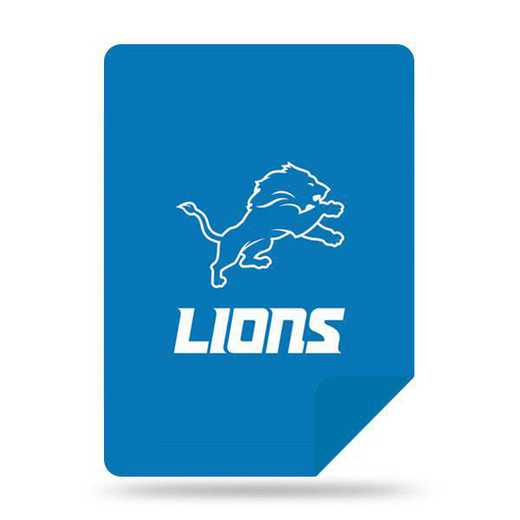 1NFL361000082RET: NFL 361 Lions Sliver Knit Throw