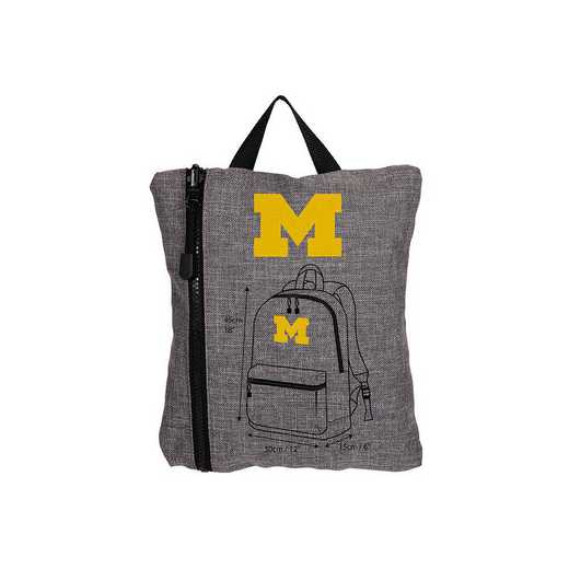 C11COLSC8020021RTL:  Michigan Tandem Backpack Heathered Grey