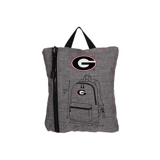 C11COLSC8020029RTL:  Georgia Tandem Backpack Heathered Grey
