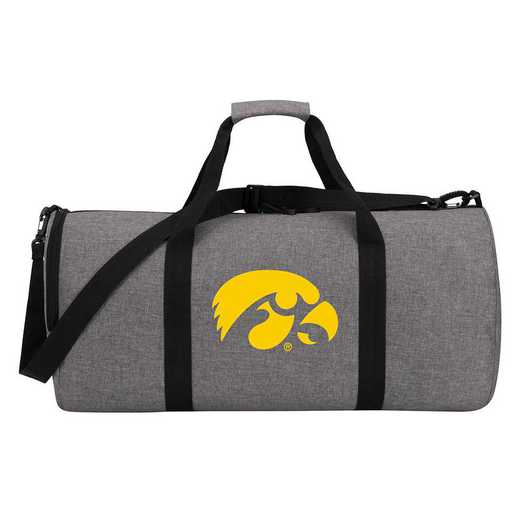 C11COLDC6020002RTL: COL DC6 Iowa Wingman Duffel Heathered Gray