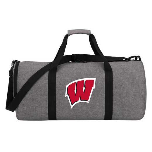 C11COLDC6020003RTL: COL DC6 Wisconsin Wingman Duffel Heathered Gray