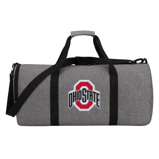C11COLDC6020007RTL: COL DC6 Ohio State Wingman Duffel Heathered Gray
