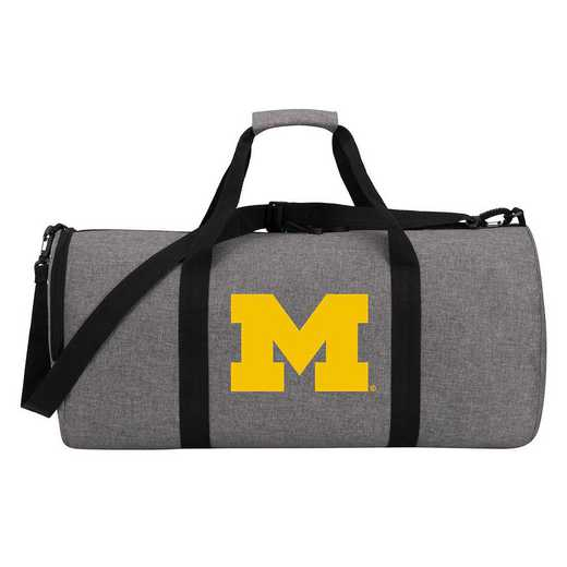 C11COLDC6020021RTL: COL DC6 Michigan Wingman Duffel Heathered Gray