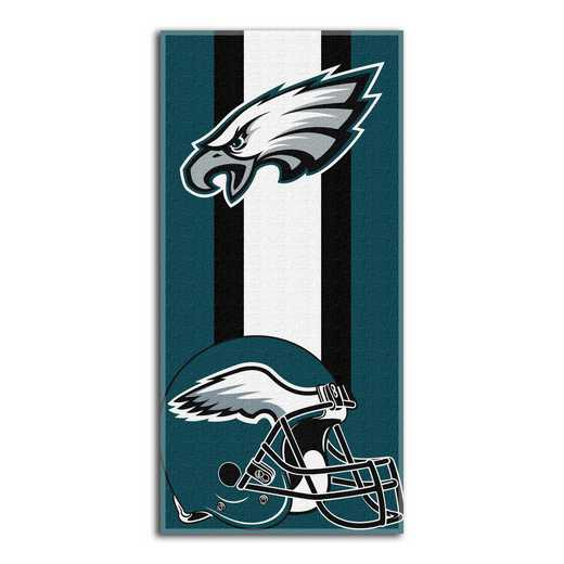 1NFL720000011RET: NFL 720 Eagles Zone Read Beach Towel