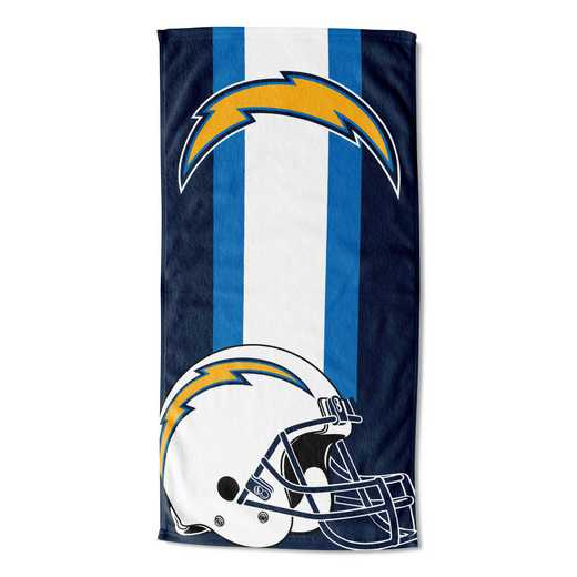 1NFL720001079RET: NFL 720 Chargers Zone Read Beach Towel
