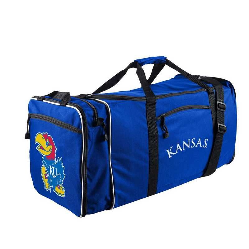 C11COLC72410008RTL: NCAA Kansas Steal Duffel