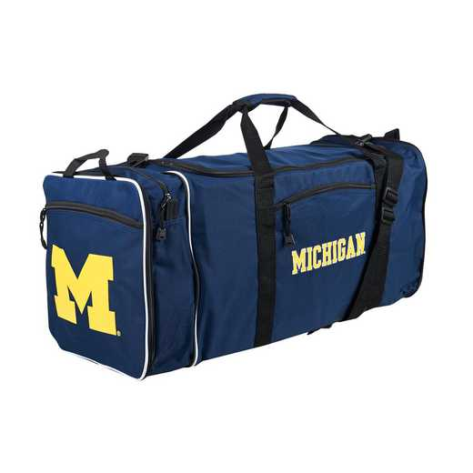 C11COLC72410021RTL: NCAA Michigan Steal Duffel
