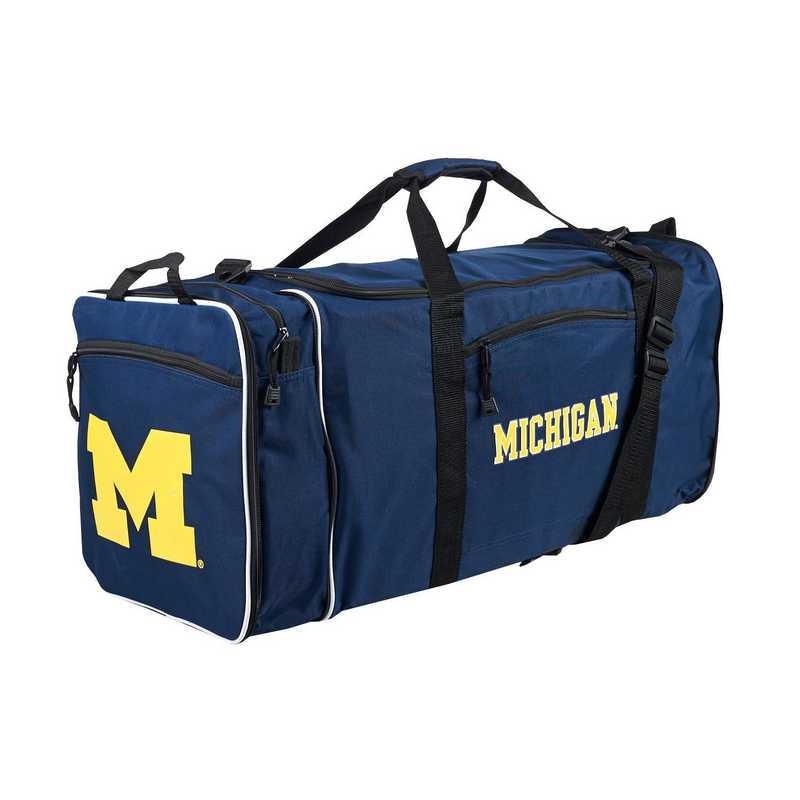 C11COLC72410021RTL: NCAA Michigan Steal Duffel