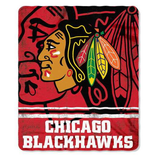 1NHL031020004RET: NHL 031 Blackhawks Fade Away Fleece