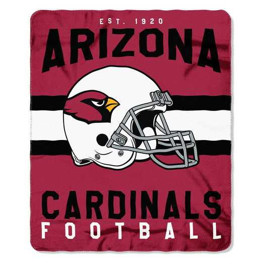 1NFL031030080RET: NW SINGULAR FLLECE THROW, CARDINALS