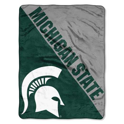 1COL059030031RET: COL 059 Michigan ST Halftone Micro Throw