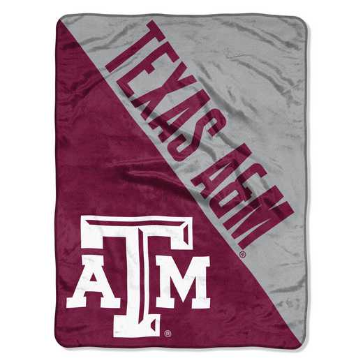 1COL059030034RET: COL 059 Texas A&M Halftone Micro Throw
