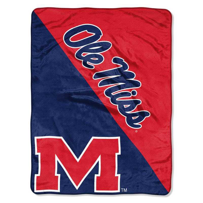 NCAA Mississippi Old Miss Rebels Sweatshirt Blanket