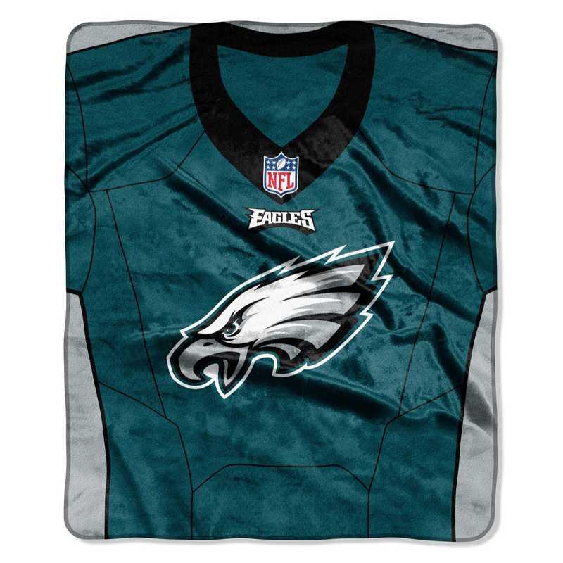 pretty nice c98fa 41001 Philadelphia Eagles Jersey Raschel Throw
