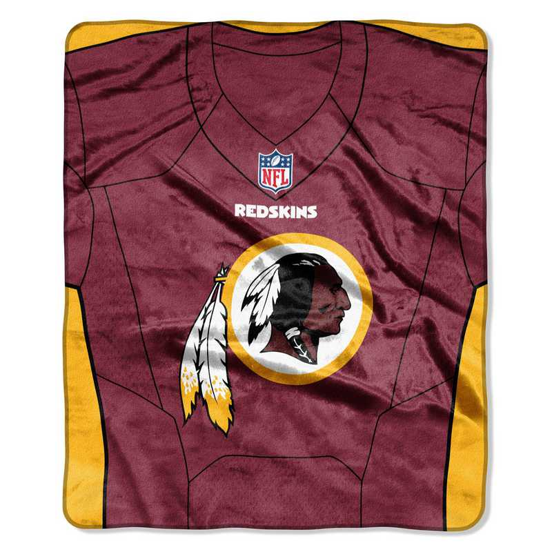 promo code aa096 111a2 Washington Redskins Jersey Raschel Throw
