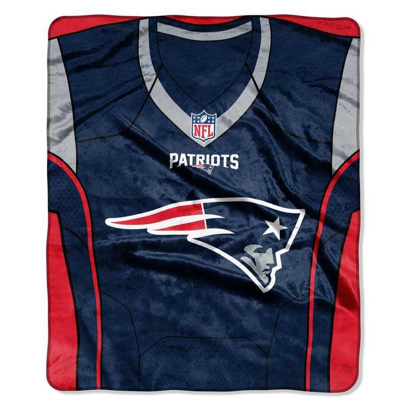 the best attitude 4df1d f7519 New England Patriots Jersey Raschel Throw