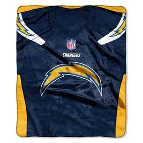 1NFL070800079RET: NFL JERSEY RACHEL THROW, Chargers