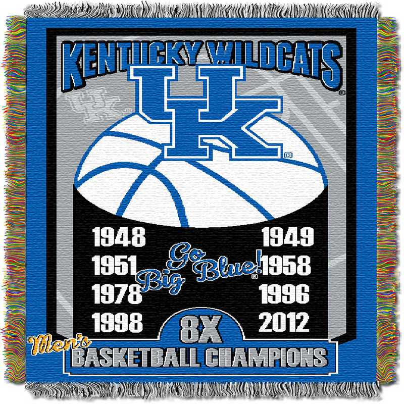 1COL051069020RET:  48x60 Tapestry Commemorative KY