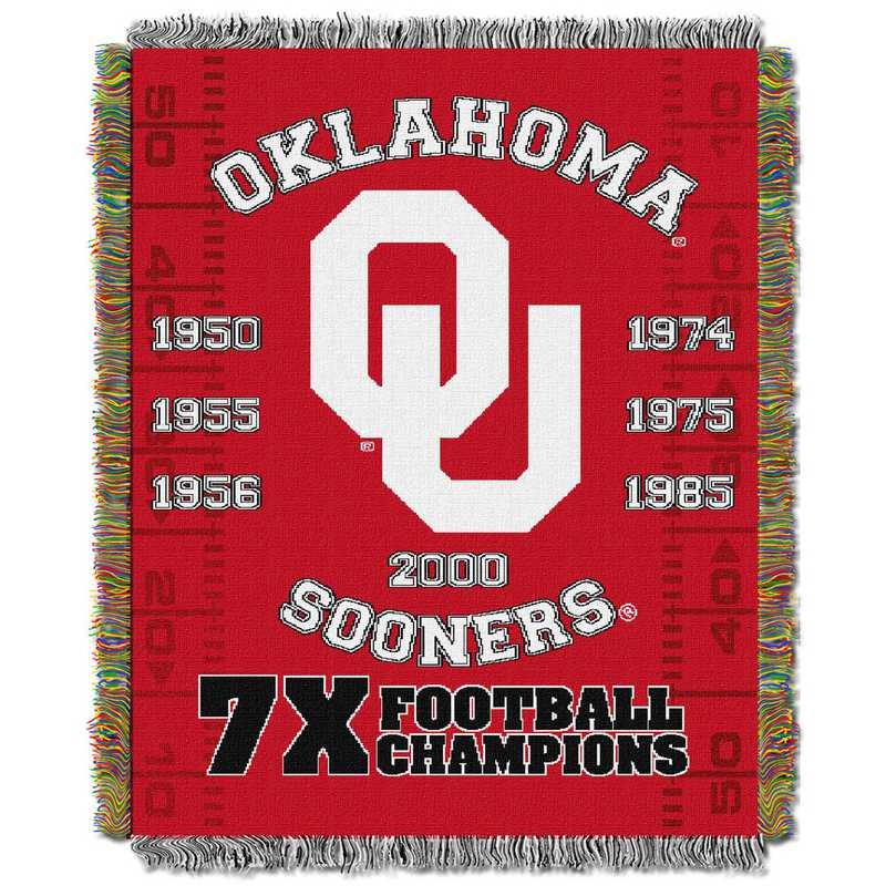 1COL051069012RET:  48x60 Tapestry Commemorative OK