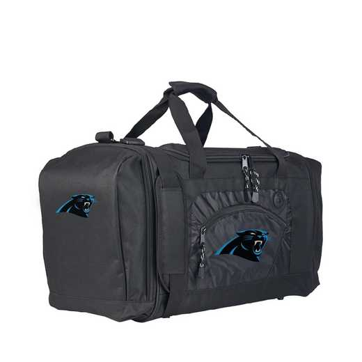 C11NFLC68002018RTL: NFL Panthers Duffel Roadblock